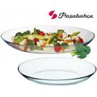 Блюдо Invitation стеклянное овальное 21х16см, глубина 2.9см PB-10357