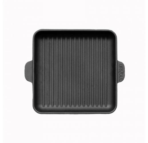 HoReCa, Сковорода чугунная квадратная гриль 180х180х25 мм