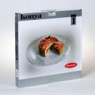 Блюдо плоское Konya стеклянное 350мм 1шт 54372