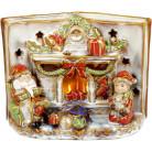 Декор керамический книга «Merry Christmas» с LED подсветкой 24х12.5х18см BD-197-721