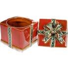 Банка керамическая «Подарок» 1.3л, 15х15х18.5см BD-197-731