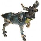 "Декоративная статуэтка ""Лось в изумрудном пиджаке"" 30х15.5х27см BD-419-182"