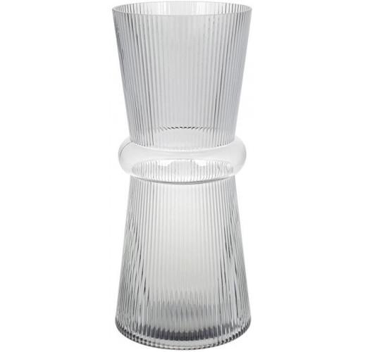 Ваза Ariadne «Гамма» 39см, серое стекло BD-420-102