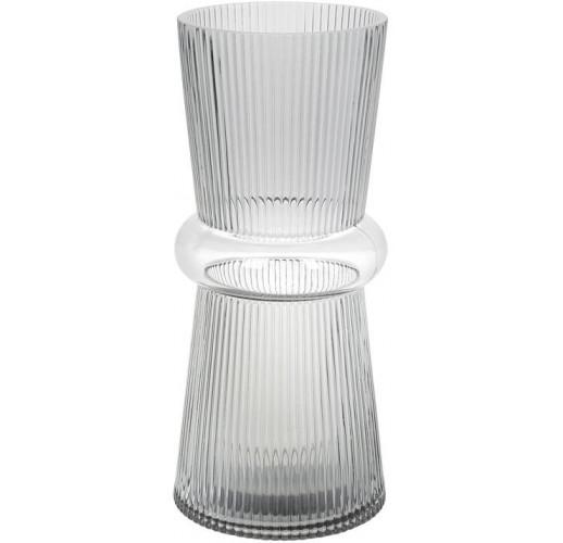 Ваза Ariadne «Гамма» 31см, серое стекло BD-420-103