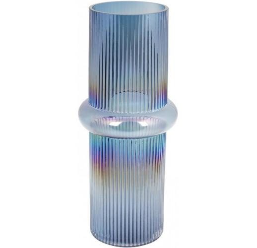 Ваза Ariadne «Этери» 36.5см, синее стекло BD-420-109
