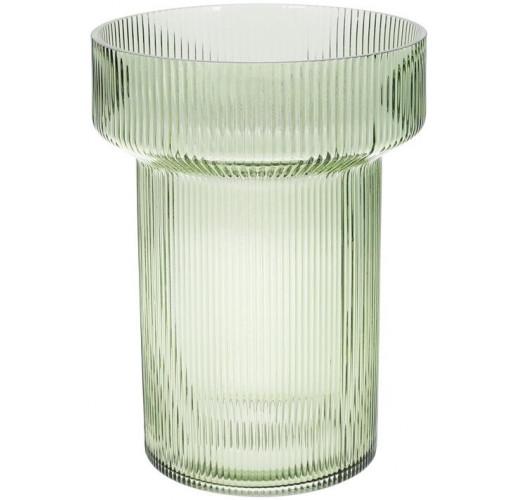 Ваза Ariadne «Грин» 28.5см, светло-зеленое стекло BD-420-112