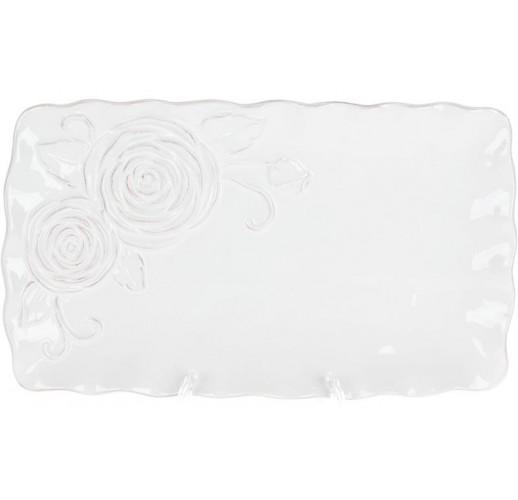 Блюдо сервировочное Аэлита 31.7х18.5х2.8см прямоугольное, керамика BD-545-478