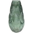 Ваза декоративная Ancient Glass Артишок 8.8х17х35см, зеленое стекло BD-591-237