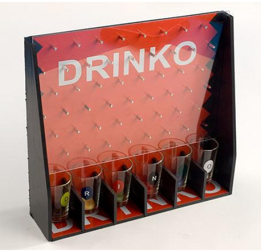 """Игра настольная """"Drinko"""" 28x7x25.5см (в наборе 6 стопок) BD-725-A32"""