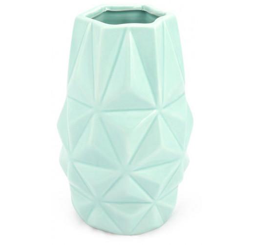 Ваза керамическая Stone Flower Абстракция 18.5см, мятная BD-733-199