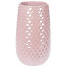 """Ваза керамическая """"Endrite"""" 24.5см, жемчужный розовый BD-733-372"""
