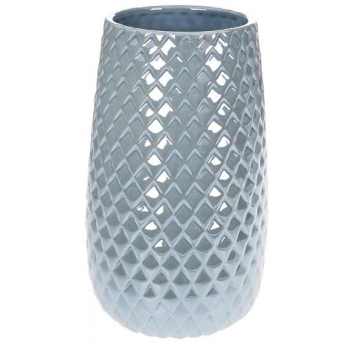 """Ваза керамическая """"Endrite"""" 24.5см, жемчужный серый BD-733-373"""