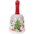 Декоративный колокольчик «Snowman Party» керамический 7.2х7.2х13.5см BD-811-021