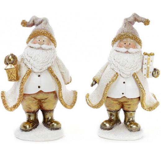 """Декоративная фигурка """"Санта Клаус в золоте"""" 13х9х20см BD-823-245"""