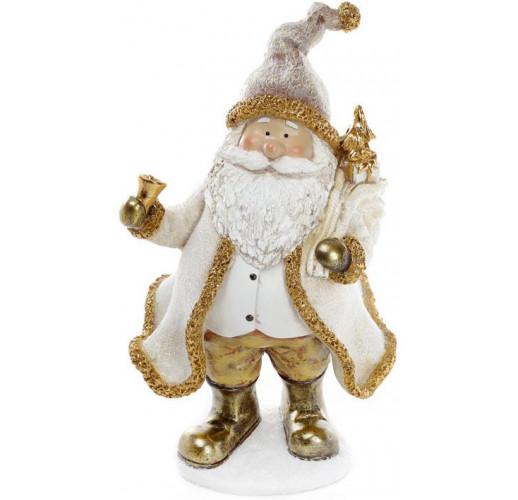 """Декоративная фигурка """"Санта Клаус в золоте"""" 17.5х14х29.5см BD-823-247"""