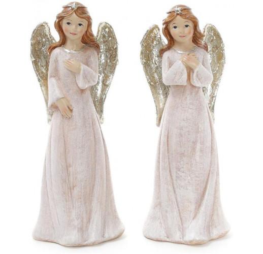 "Декоративная фигура ""Ангел в розовом"" 20см BD-823-249"
