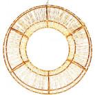 """Декор с LED-подсветкой """"Огненное Кольцо"""" Ø50см"""