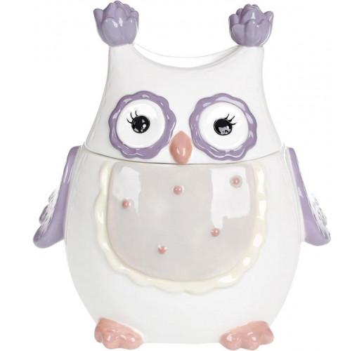 """Банка """"Owl Family"""" 950мл с керамической крышкой BD-834-830"""