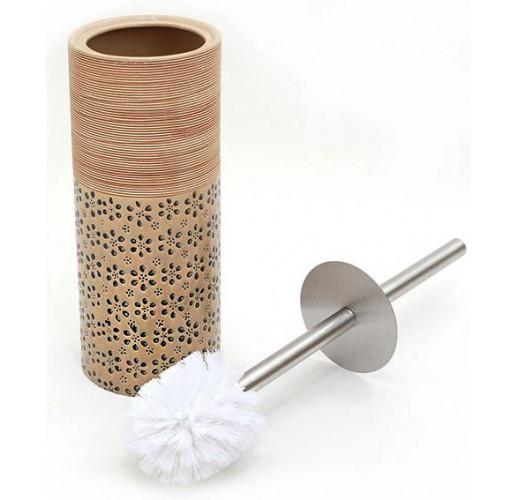 """Ершик для туалета с керамической подставкой """"Халкида"""" 39см BD-853-125"""