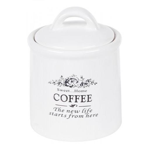 Банка керамическая Sweet Home COFFEE 600мл для хранения кофе BD-875-320