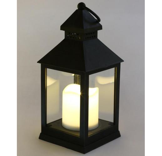 "Декоративный фонарь ""Ночной огонек"" с LED подсветкой 10.5х10.5х24см BD-882-112"