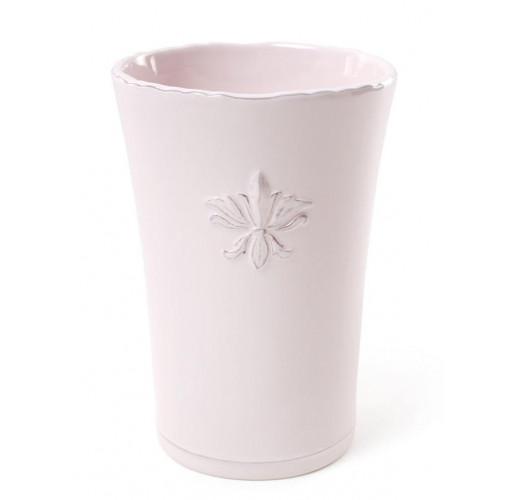 """Ваза для цветов Shabby Chic """"Розовая Лилия"""" 17см керамическая BD-902-103"""