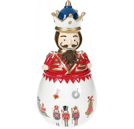 Банка для сладостей «Щелкунчик - симфония детства» 600мл, керамика BD-923-227