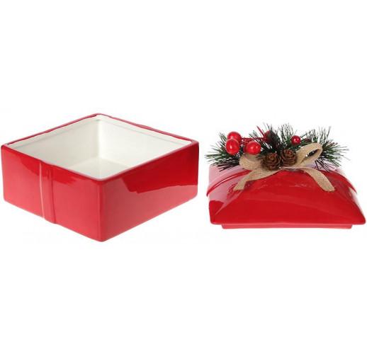 Банка для сладостей «Подарочек» 750мл керамическая BD-923-238
