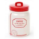 Банка керамическая Red&Blue COFFEE 900мл, красная BD-DM109-S