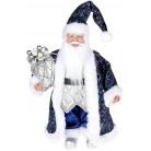 """Декоративная фигура """"Санта с мешком"""" 30см, синий BD-NY14-518"""