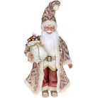 "Декоративная фигура ""Санта с мешком"" 45см, розовый BD-NY14-532"