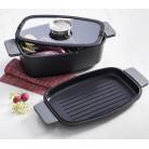 Гусятница Infinity Chefs Essence 32х20х11см индукционная с аромакрышкой