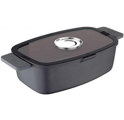 Гусятница Infinity Chefs Essence 32х20х11см, полная индукция, с аромакрышкой