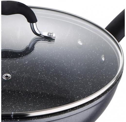 Вок-сковорода Bergner Master Pro Home Edition Ø28см индукционная с крышкой