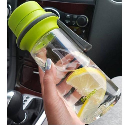 Бутылка для воды Fissman Drink 500мл с фильтром, пластик FN-6847