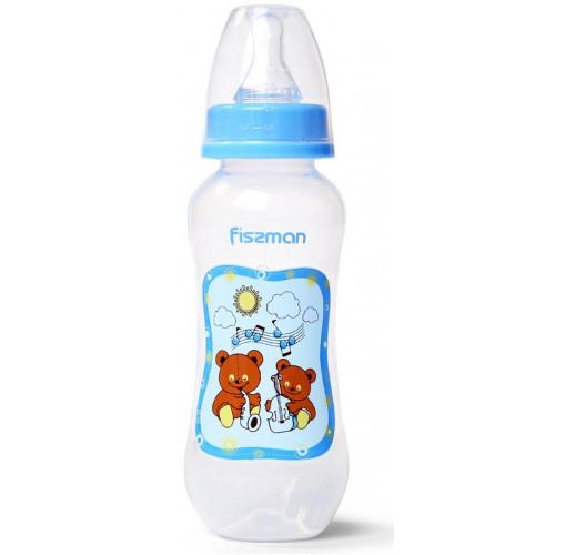 """Бутылочка детская для кормления Fissman Babies """"Медвежата-музыканты"""" 240мл FN-6880"""