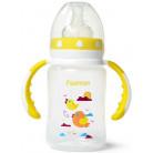 """Бутылочка детская для кормления Fissman Babies """"Птички в облаках"""" 240мл с ручками FN-6893"""