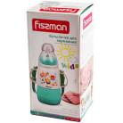 """Бутылочка детская для кормления Fissman Babies """"Забавное купание"""" 150мл с ремешком, аквамарин FN-7954"""