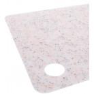 Доска разделочная Fissman Beige Granite 29х19см пластиковая гибкая