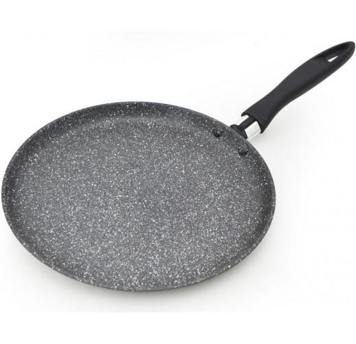 Блинная сковорода Fissman Fiore Ø24см индукционная с мраморным антипригарным покрытием FN-AL-4464