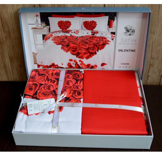 3D Satin 200×220 Digital Series Valentine