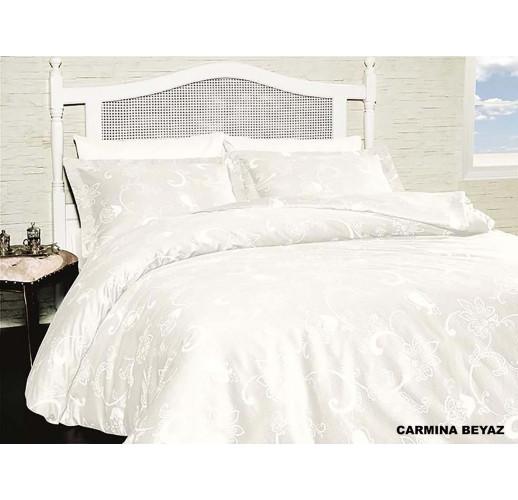 Cotton Satin 160 х 220 см Carmina Beyaz