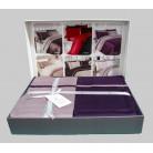 Cotton Satin 200 х 220 см Duet Style Purple-Lilac