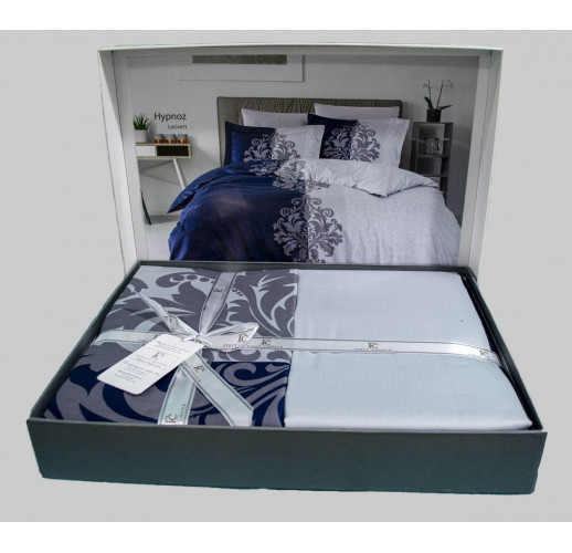 Cotton Satin 200 х 220 см Hypnoz Navy Blue
