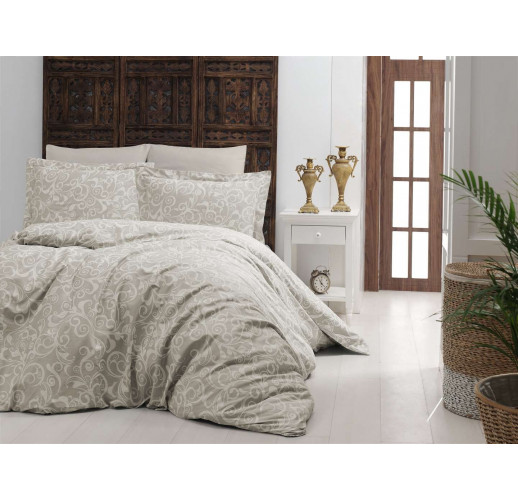 Cotton Satin 200 х 220 см Sweta Beige
