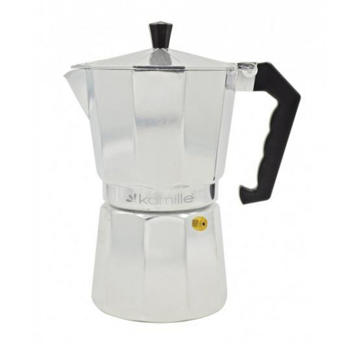 Гейзерная кофеварка Kamille на 6 чашек 300мл KM-2501