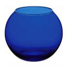 Ваза Flora WorkShop сфера 79мм синее стекло PB-43407_EB