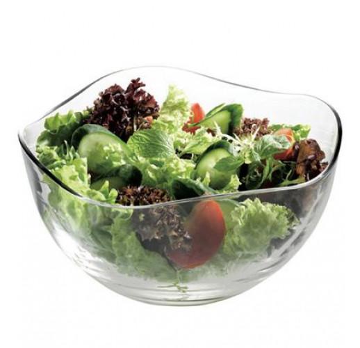Большая стеклянная салатница Toscana 4600мл PB-53903