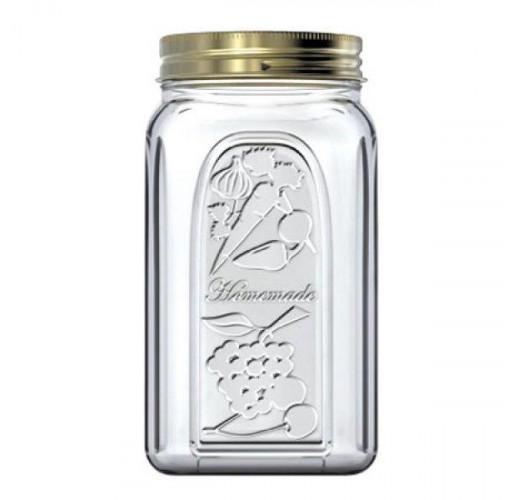 Банка стеклянная для продуктов Homemade 3000мл (3л) с металлической крышкой
