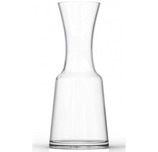 Графин ZestGlass 1100мл для лимонада, вина и освежающих фруктово-ягодных напитков (оранжевая крышка)